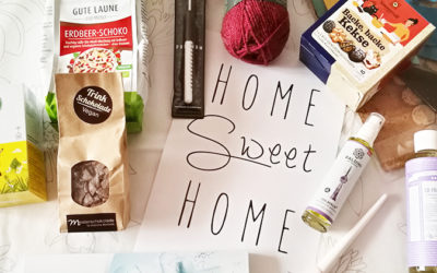 Nachhaltigkeit in einer Box: TrendRaider Trendbox Sweet Home