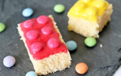 Leckerer Lego Zitronenkuchen zur Einschulung!