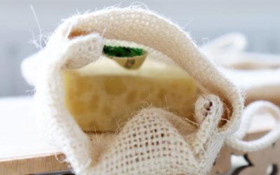 Nachhaltig Leben: Zero Waste Seifensäckchen für Peelings und mehr!