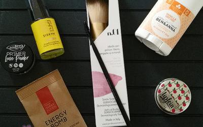 Inhalt der Vegan Beauty Basket Mai 2017