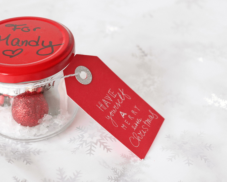 PENNY erfüllt Herzenswünsche! - DIY Anleitung für ein winterliches Weihnachtsglas