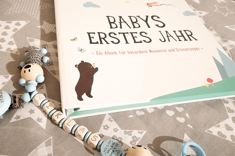 Baby-Album - die ersten 12 Monate mit dem Baby