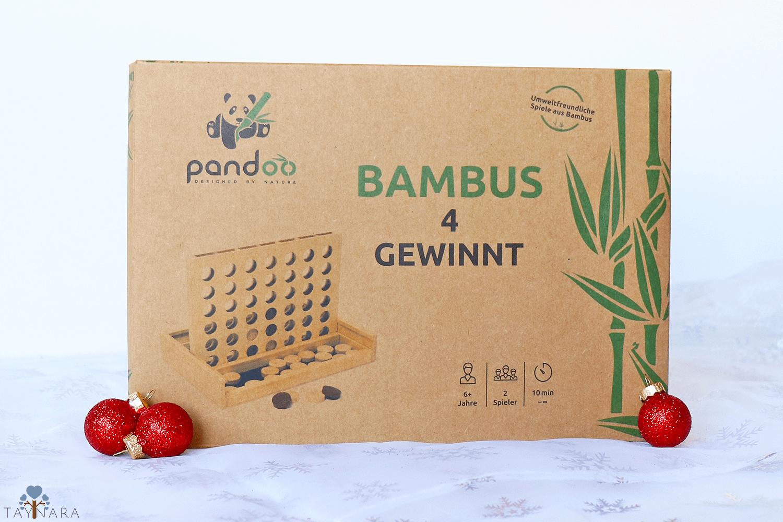 Nachhaltige Spiele aus Bambus von pandoo