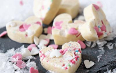 Zarte Versuchung: DIY Herz-Schokolade zum verschenken!