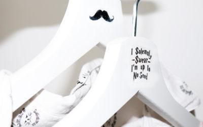 Langweilig war gestern! DIY Kleiderbügel mit eigenen Motiven aufwerten!