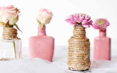 Upcycling Idee: Minivasen aus Nagellackflaschen!