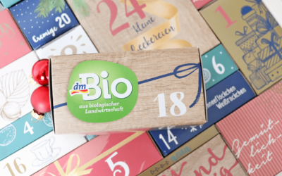 dmBio Adventskalender 2019 – 24 Türchen voller Leckereien!