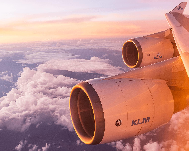 Entdecke die Welt mit der Airline KLM