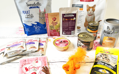 Überraschungspaket für die Katze! Die Frühlings-Superbox von Zooplus