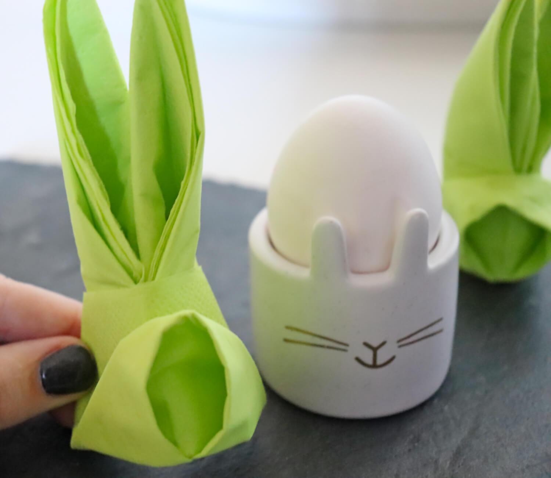 Hasen-Servietten für Ostern