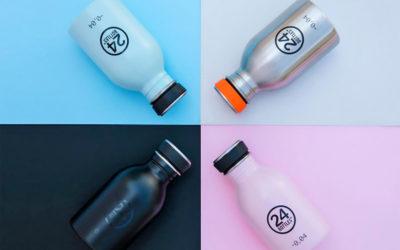Adieu Plastik! Nachhaltige Trinkflaschen von 24 Bottles