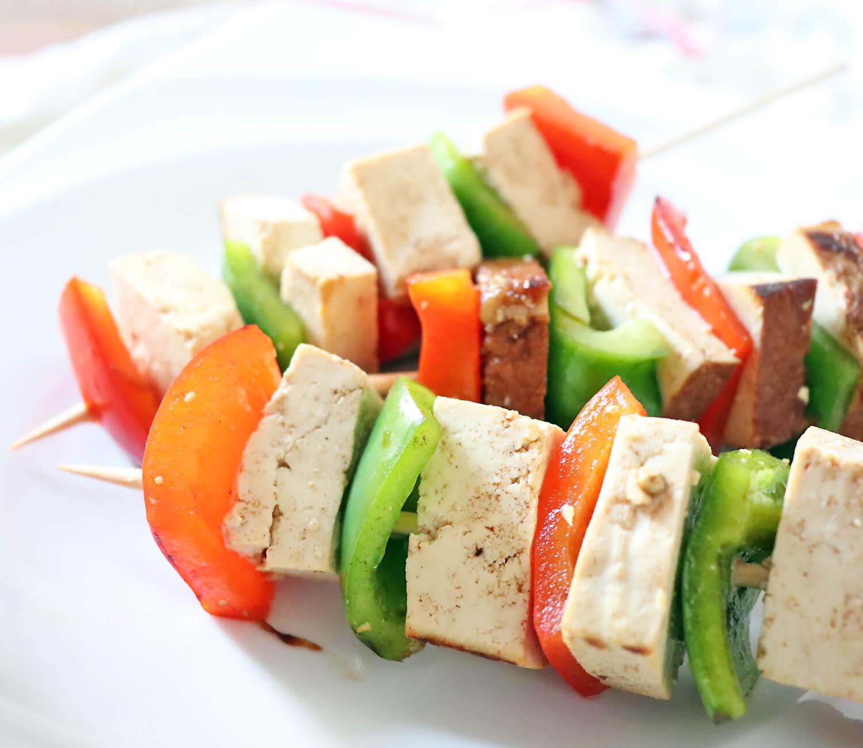 Vegane Tofu Spieße - Berief