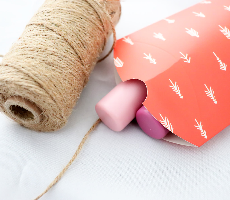 DIY Geschenke nachhaltig verpacken