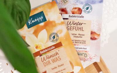 Gesund und entspannend: Baden für die Hautpflege / Kneipp Herbst Neuheiten 2021